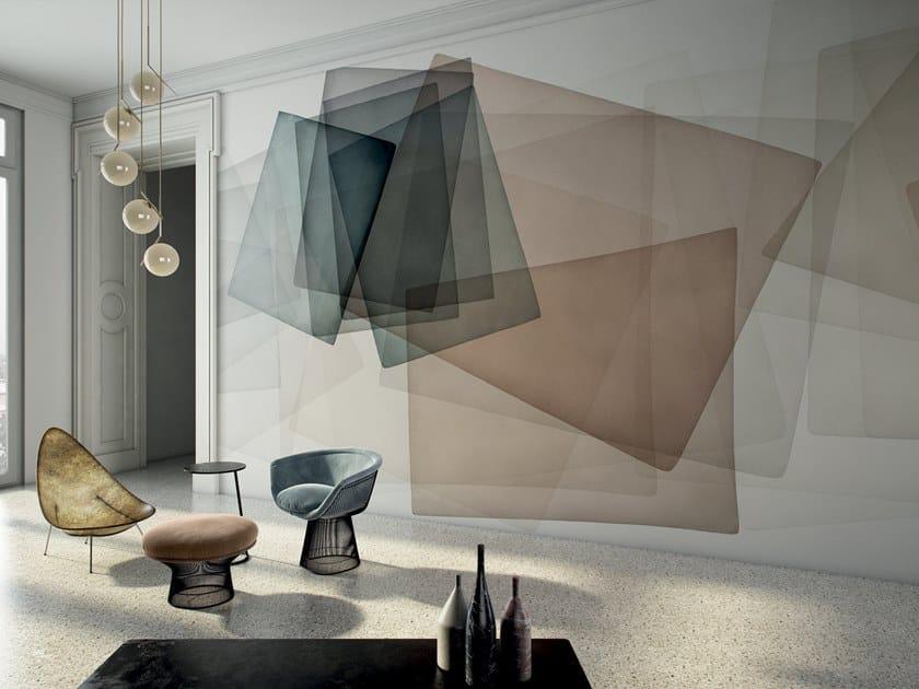 Geometric wallpaper FLOE by GLAMORA