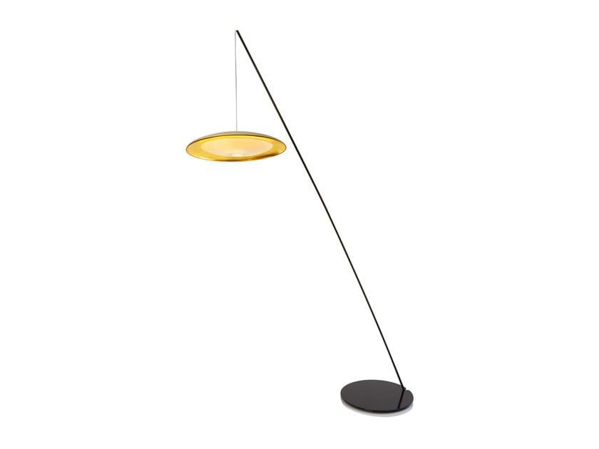 Direct light japanese paper floor lamp PALANQUIN | Floor lamp by CFOC