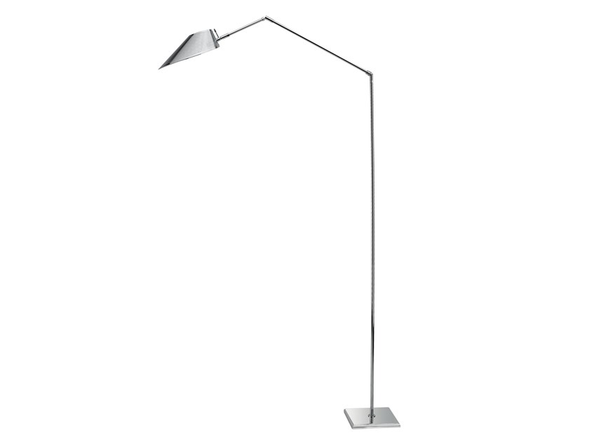 Adjustable floor lamp AIRONE/M | Floor lamp by ANNA LARI