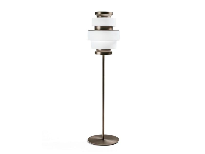 Titanium floor lamp KÉPI | Floor lamp by Arketipo