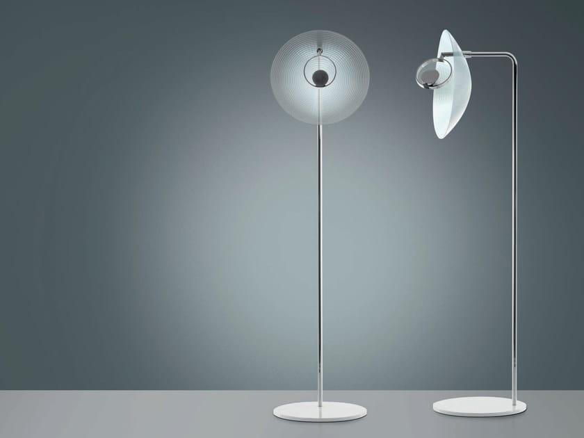 LED indirect light methacrylate floor lamp TRIX | Floor lamp by Artemide