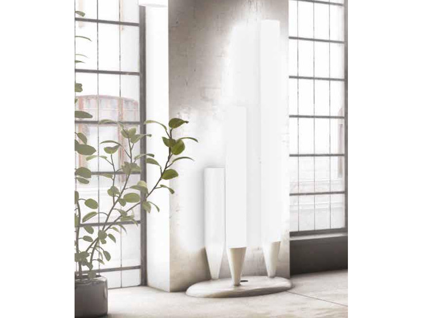 Solid Surface floor lamp CONCERT | Floor lamp by Boffetto