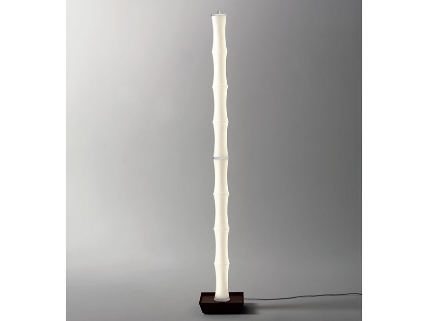 LED glass floor lamp BAMBÙ | Floor lamp by Cattaneo