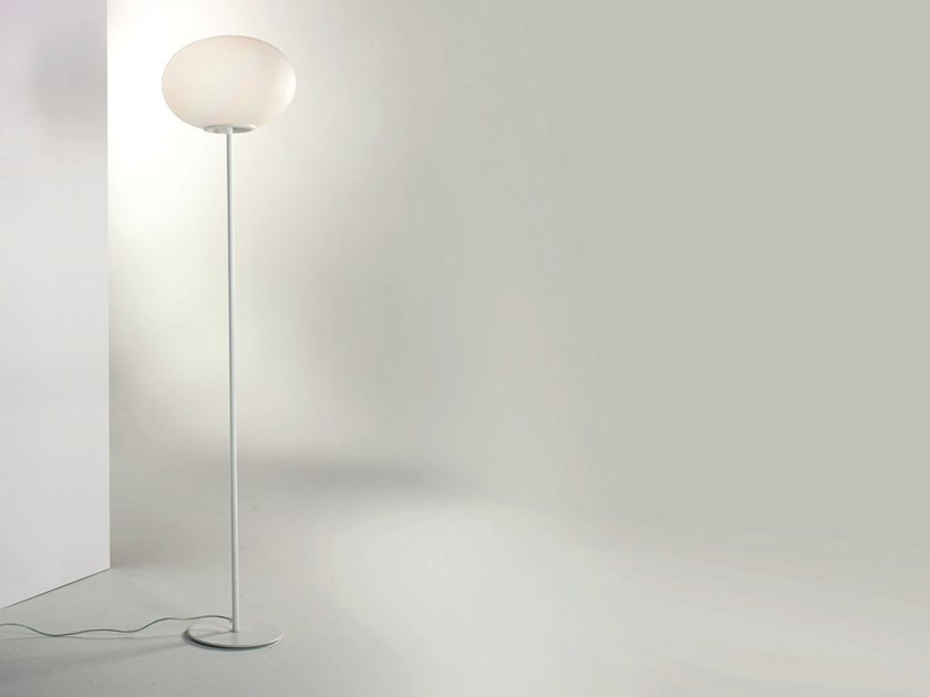 Blown glass floor lamp MERCURY | Floor lamp by Cattaneo