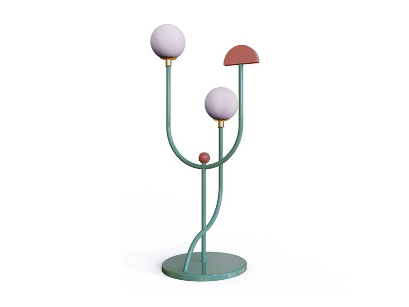 Metal floor lamp SPACE | Floor lamp by DOVAIN STUDIO