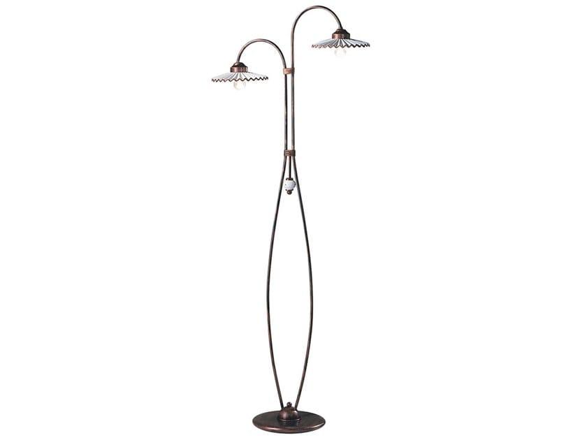 Ceramic floor lamp L'AQUILA | Floor lamp by FERROLUCE