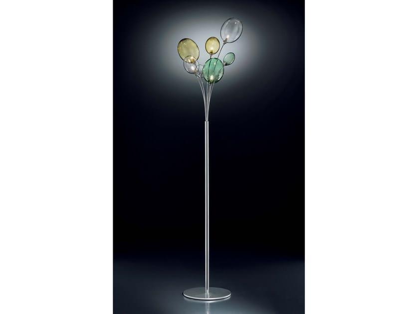 Direct light Pyrex® floor lamp BOLLA   Floor lamp by IDL EXPORT