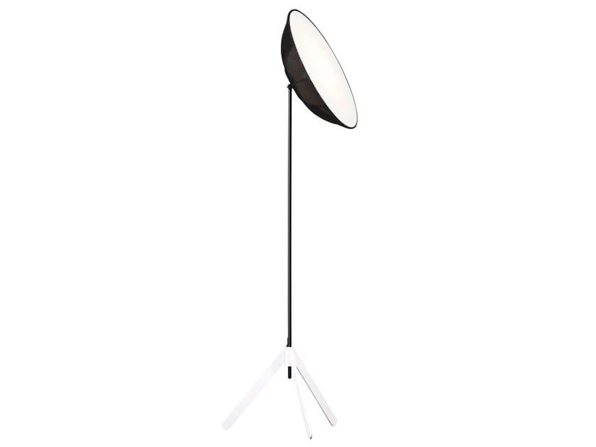 LED adjustable fabric floor lamp STUDIO | Floor lamp by bs.living