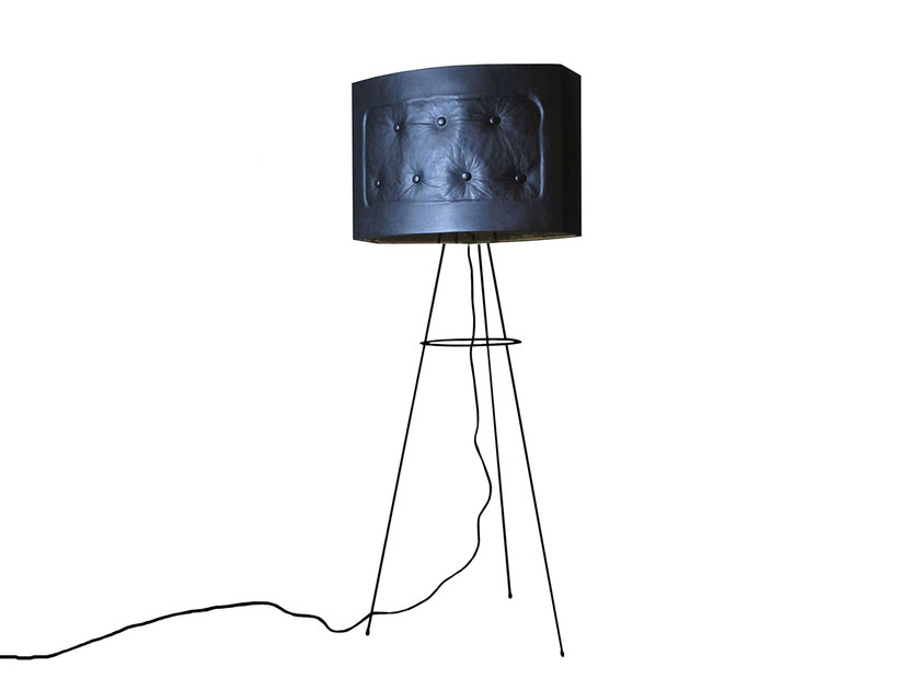 Floor lamp BLACK PILLOW by Kappennow