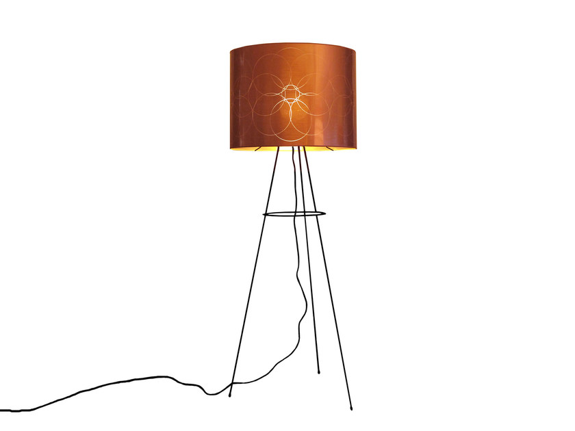 PVC floor lamp FLOWER | Floor lamp by Kappennow