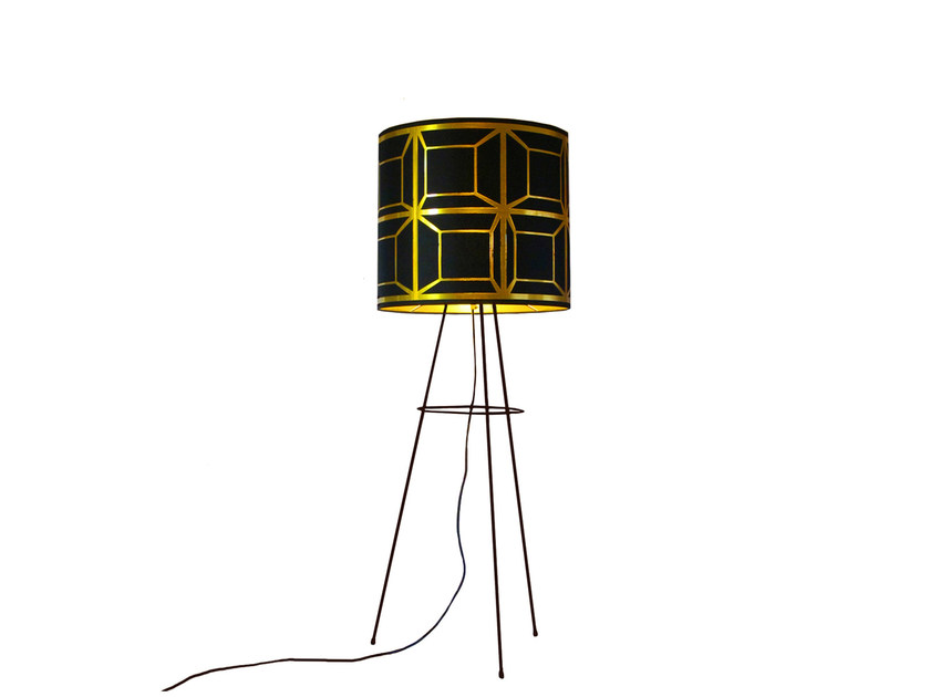 Floor lamp CUBES by Kappennow