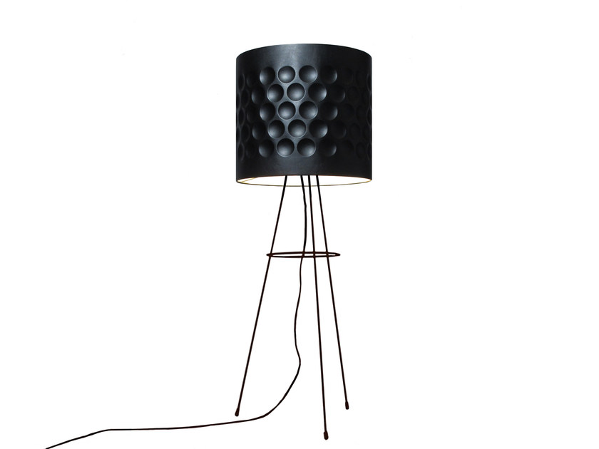 Floor lamp LEATHER IN by Kappennow