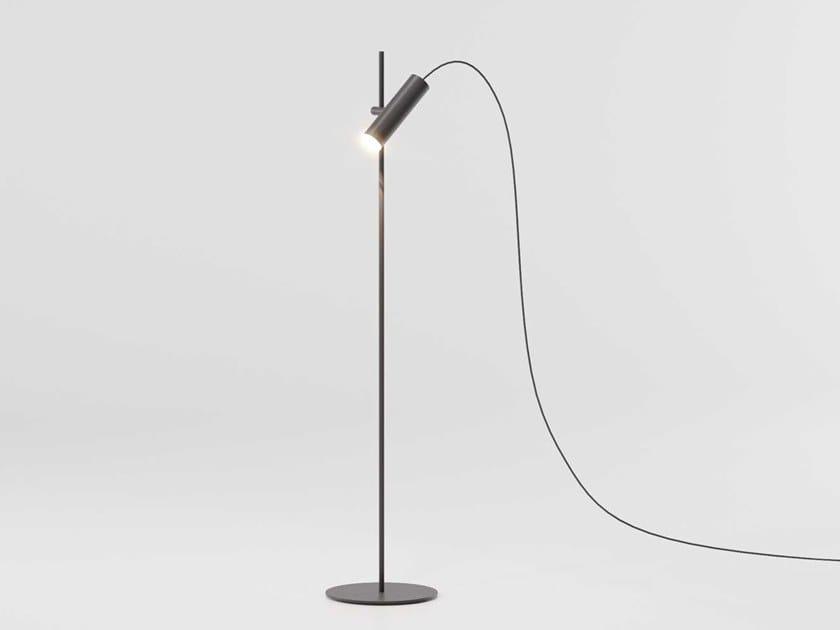 LED aluminium floor lamp DOTS | Floor lamp by Kettal