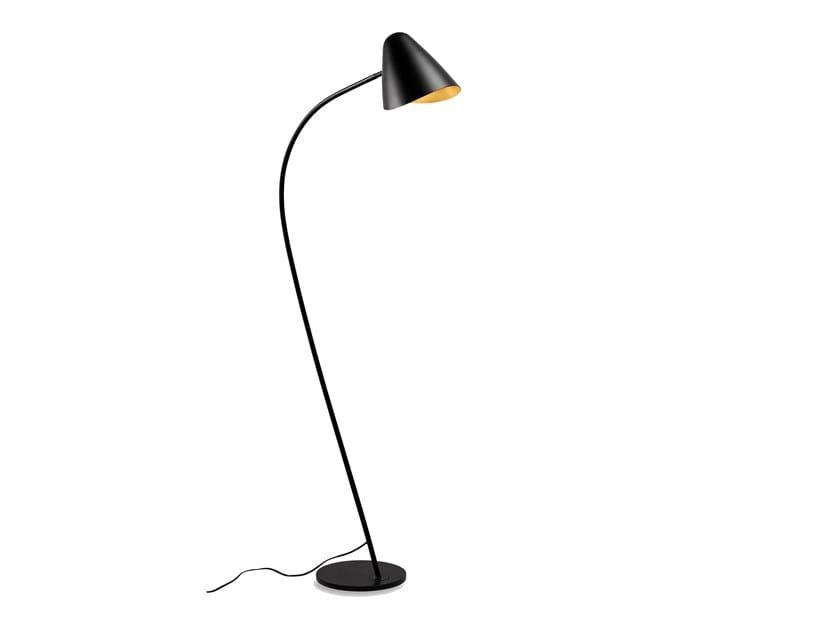 Steel floor lamp ORGANIC | Floor lamp by LEDS C4