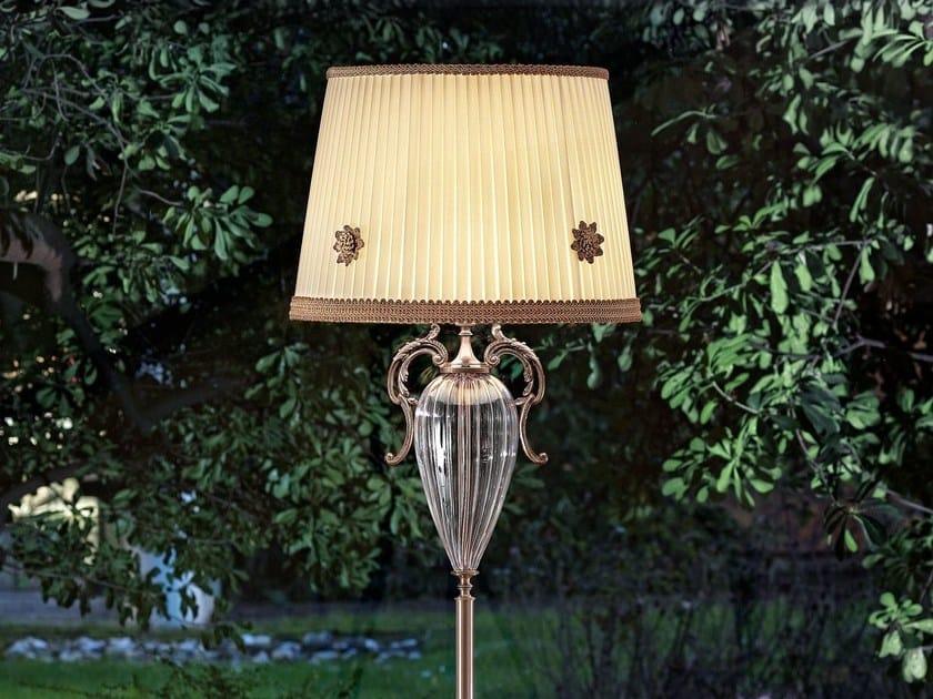 Lampada da terra a luce diretta in metallo PRIMADONNA | Lampada da terra by Masiero