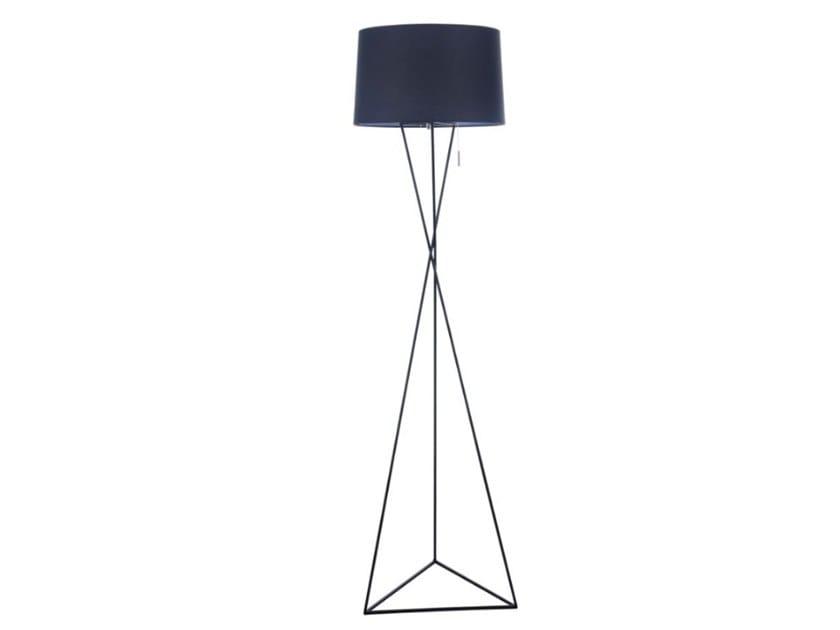 Lampadaire en tissu à lumière directe et indirecte GAUDI | Lampadaire by MAYTONI
