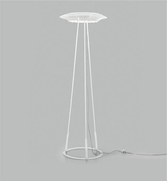 LED plate floor lamp CLOVY   Floor lamp by Metal Lux