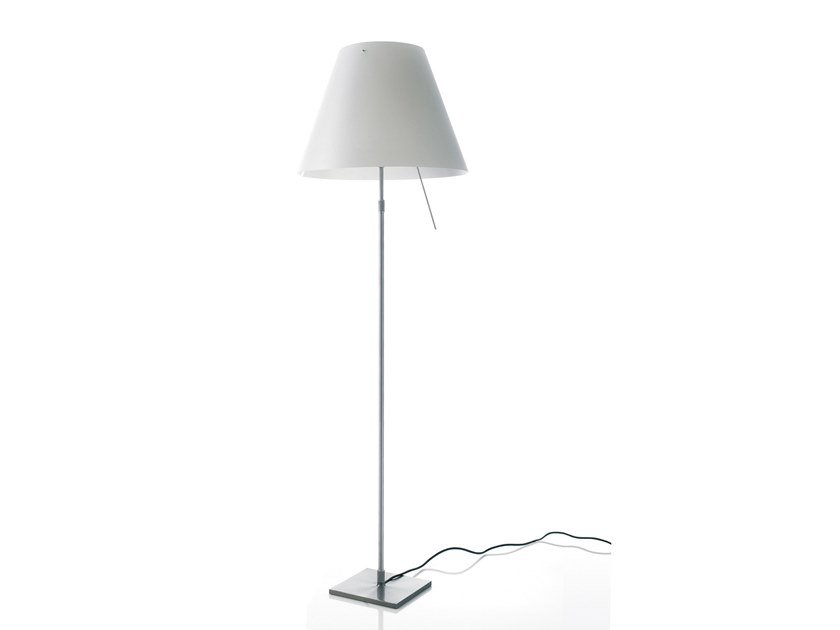 LED polycarbonate floor lamp COSTANZA | Floor lamp by LUCEPLAN