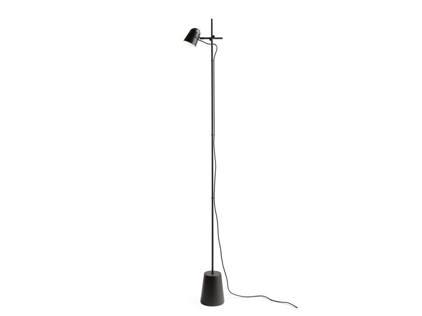 LED adjustable aluminium floor lamp COUNTERBALANCE | Floor lamp by LUCEPLAN