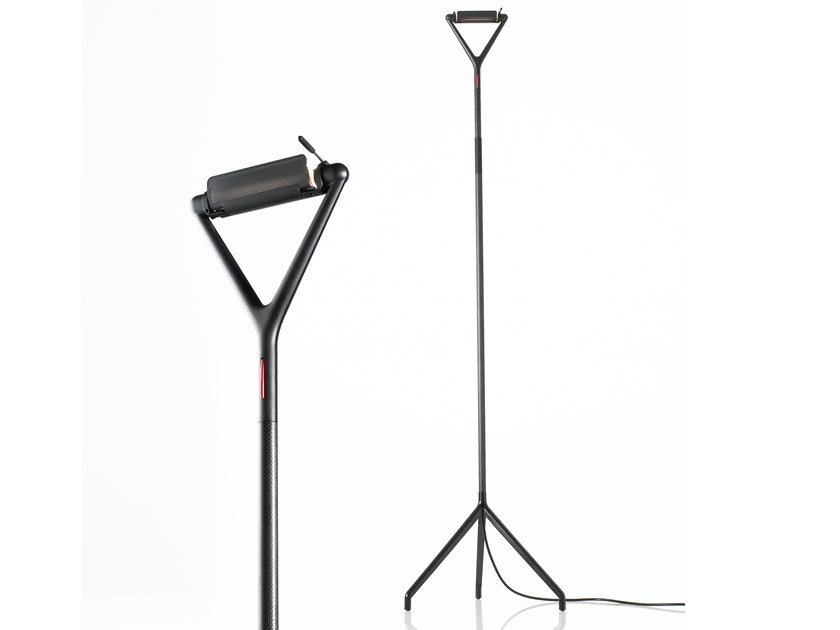 Direct-indirect light floor lamp LOLA | Floor lamp by LUCEPLAN