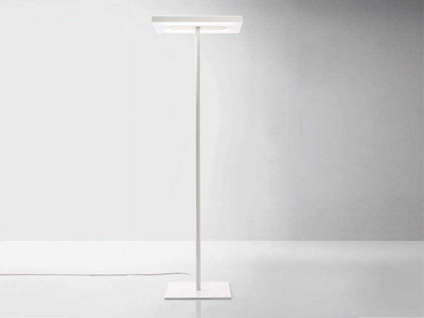 Linea floor lamp linea collection by quadrifoglio design moreno de aluminium floor lamp linea floor lamp by quadrifoglio aloadofball