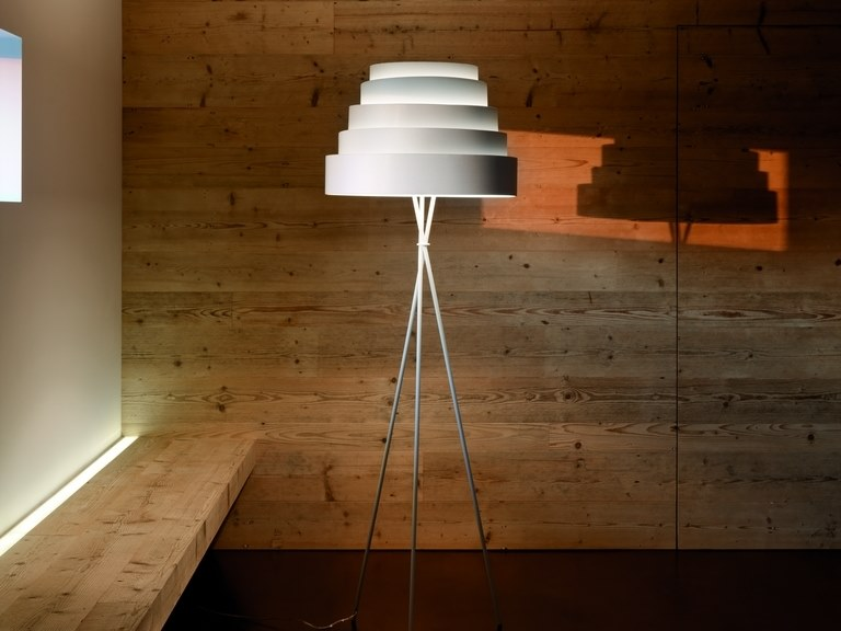 Babel Lampadaire Collection Babel By Quadrifoglio Design Fabio Flora