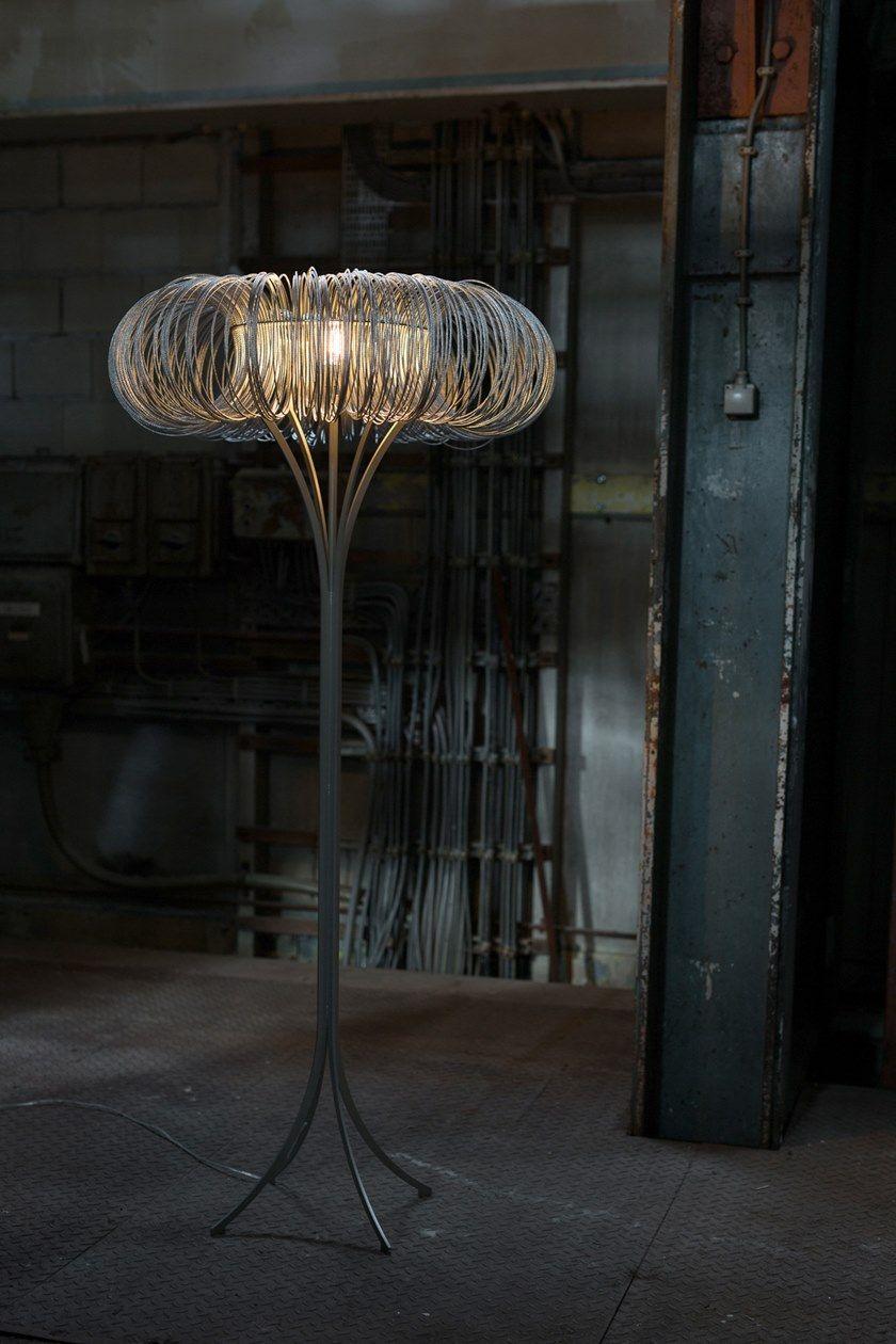 LED metal floor lamp ROUNDABOUT | Floor lamp by Quasar