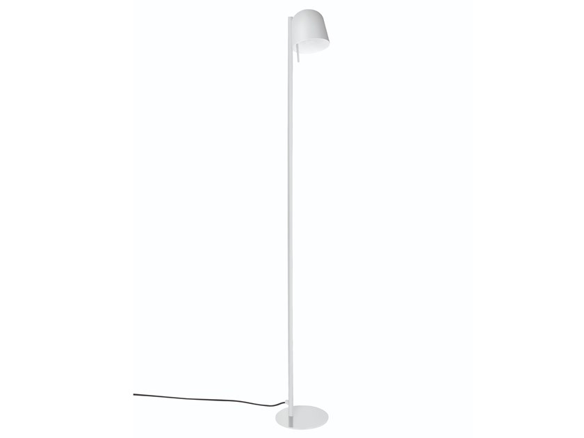 Direct light adjustable brass floor lamp HÔ | Floor lamp by Specimen Editions
