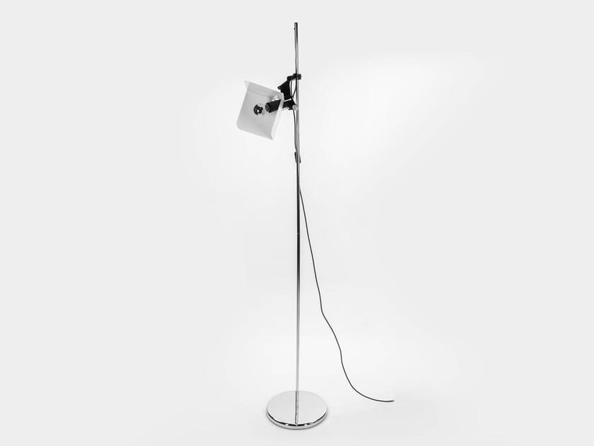 Adjustable metal floor lamp TRIEDRO | Floor lamp by Stilnovo