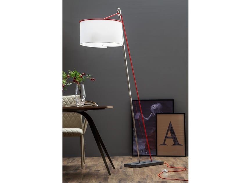 Fabric floor lamp AGO E FILO | Floor lamp by Tonin Casa