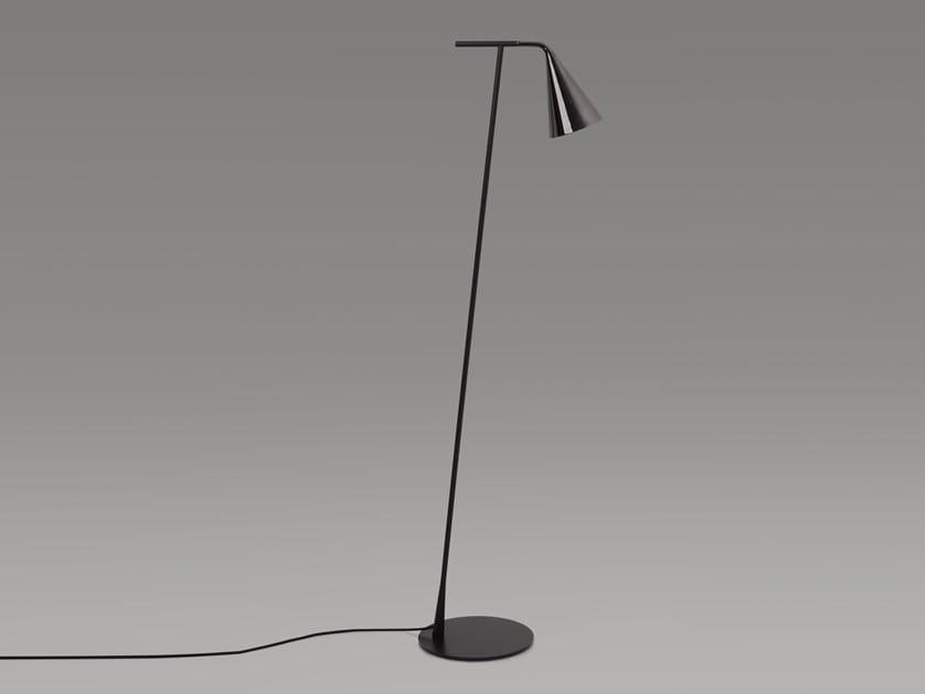 Metal floor lamp with dimmer GORDON   Floor lamp by Tooy