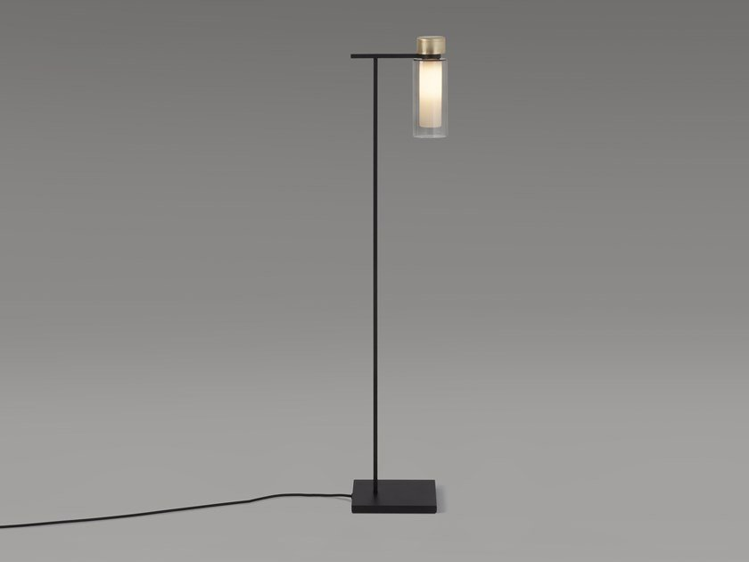 Glass floor lamp OSMAN | Floor lamp by Tooy