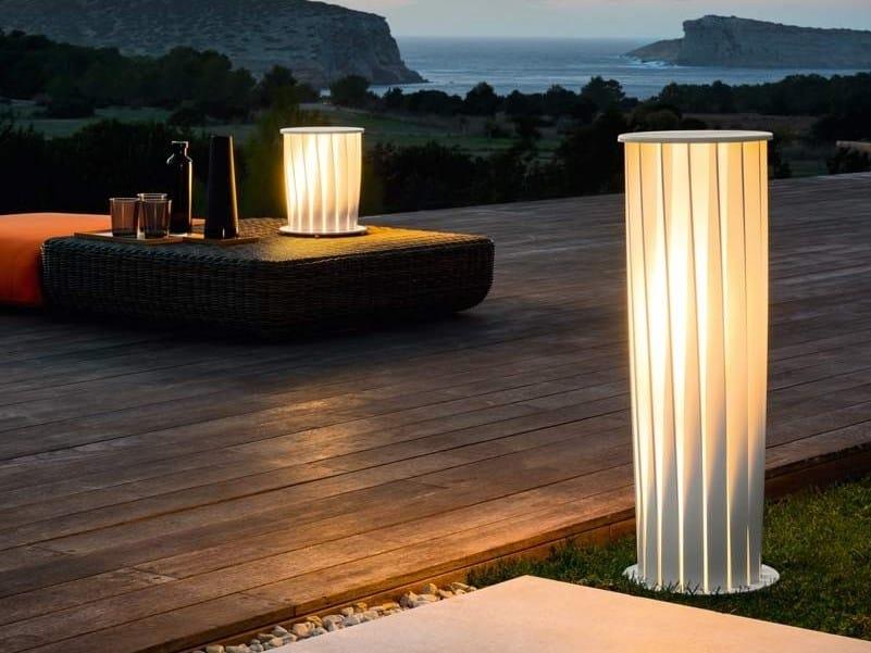 Aluminium Floor lamp ATON | Floor lamp by Unopiù