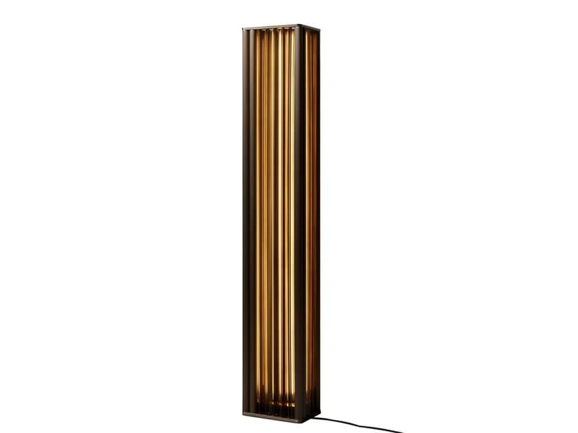 Lampada da terra a LED in vetro soffiato con dimmer NUMA   Lampada da terra by VeniceM