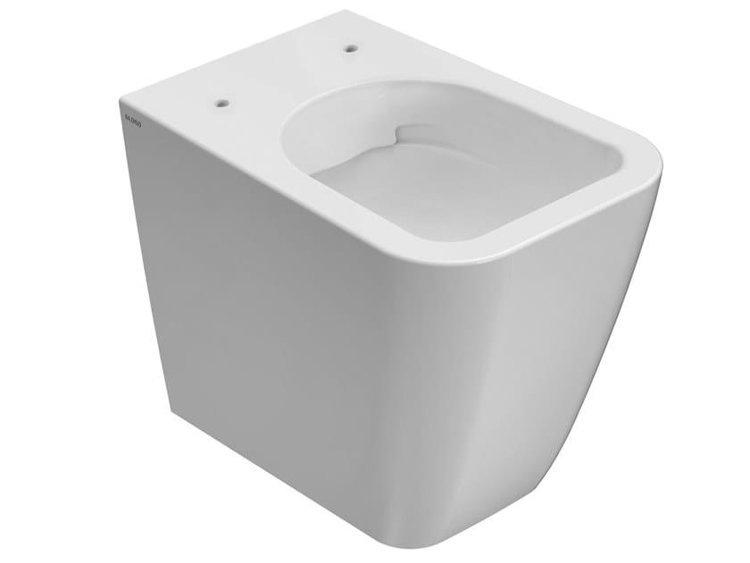 Floor mounted ceramic toilet STONE | Floor mounted toilet by Ceramica Globo
