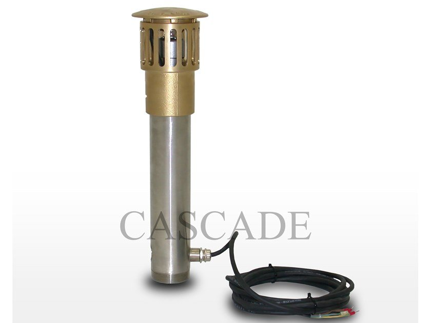 Accessory for fountain Floor overflow pipe with water level by CASCADE