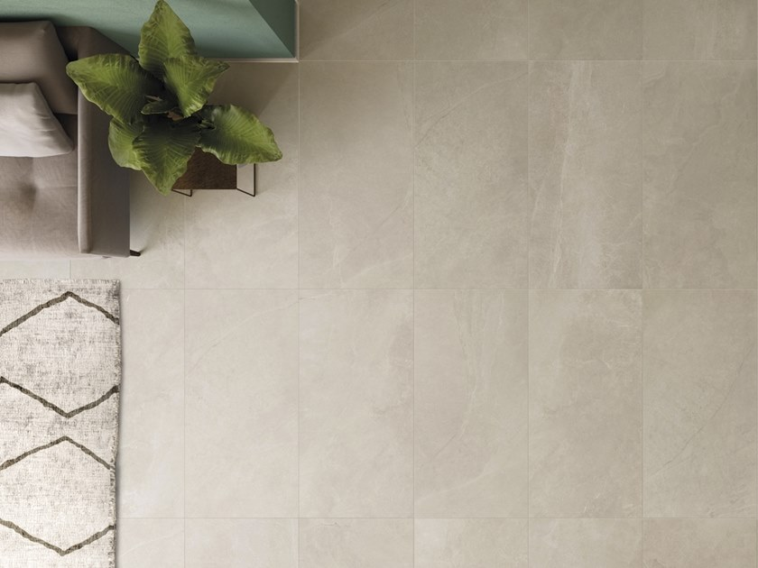 Porcelain stoneware flooring with marble effect COAST ROAD   Flooring by Supergres