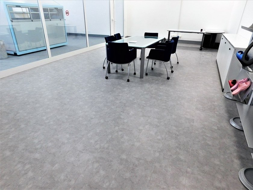 PVC flooring with concrete effect RVF 45   Flooring with concrete effect by TIMBY PARQUETS