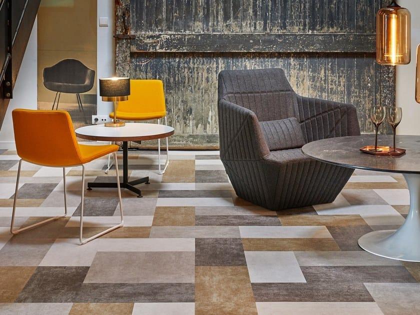 Vinyl flooring with stone effect ID SUPERNATURE & TATTOO | Flooring with stone effect by TARKETT