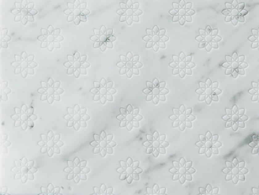 Marble wall/floor tiles FLOR CARRARA by TWS