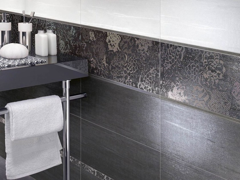 Double-fired ceramic wall tiles FLOREALE by CERAMICHE BRENNERO