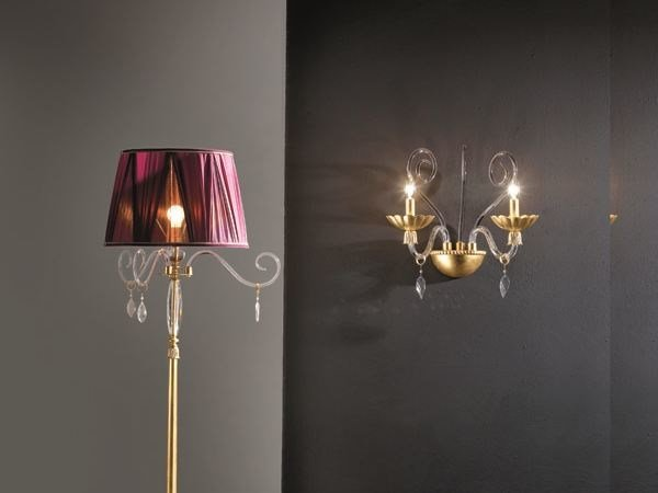 Wall light FLORENTIA A2 by Euroluce Lampadari