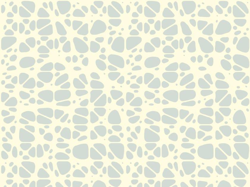 Carta da parati geometrica in carta non tessuta FLORETTA #2 by EXTRATAPETE