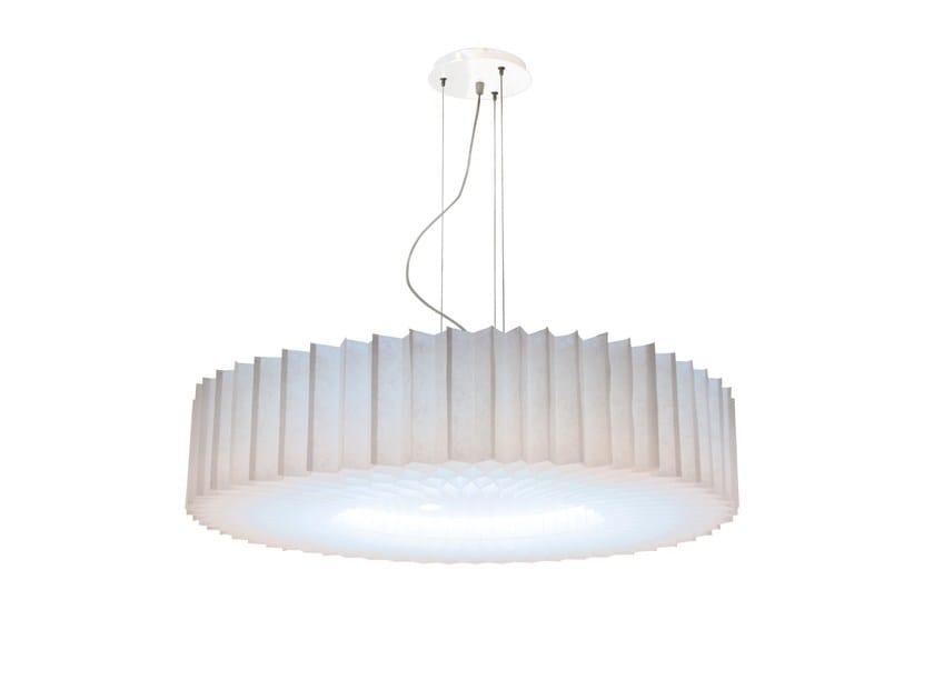 Pendant lamp FLORIS BLC by Brossier Saderne