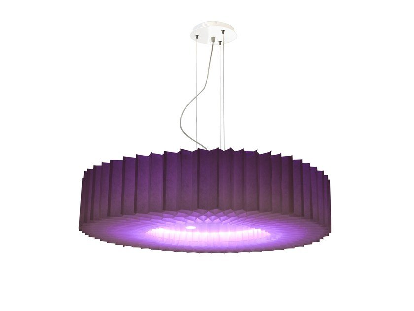 Pendant lamp FLORIS RGB by Brossier Saderne