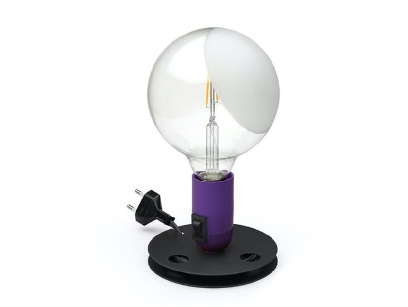 Lampada da tavolo a LED in vetro FLOS - LAMPADINA VIOLA by In Stock