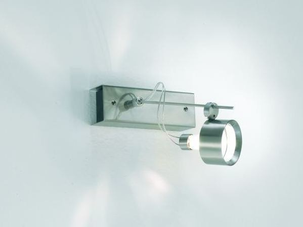 Adjustable metal spotlight with dimmer FLOW 01 D by LUCIFERO'S