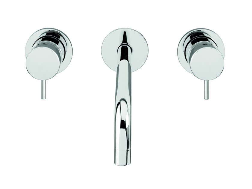 Chromed brass washbasin tap FLOW T1.16.3F | Washbasin tap by Water Evolution