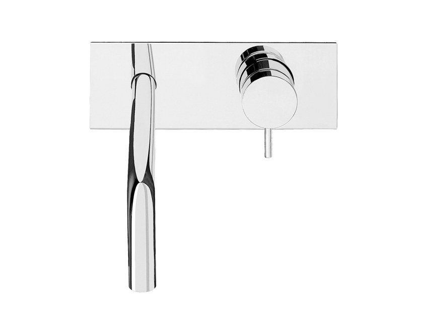Chromed brass washbasin tap FLOW T1.161B | Washbasin tap by Water Evolution