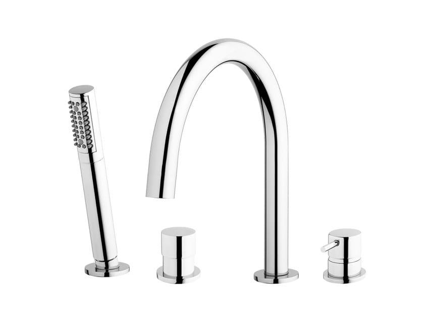 Robinet pour baignoire en laiton chromé FLOW T1.38 | Robinet pour baignoire by Water Evolution
